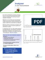DTS Melamine Analyzer Data Sheet