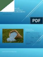 Generalidades de Los Fertilizantes,Plaguicidas y Reguladores de Crecimiento