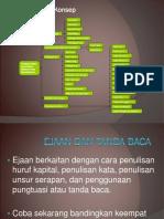 3) Ejaan Yang Disempurnakan (EYD)