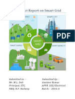A Project Report on Smart Grid