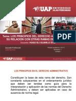 3.Los Principios Del Derecho Administrativo