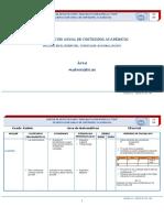 Planificación Anual de Contenidos Académicos