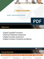 CIS 8011 Module 6 Digital Innovation Assessment