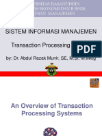 10 Transaction Processing Systems