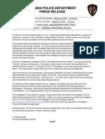 U18-275 Home Invasion Press Release UPDATE