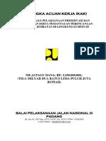 Kak Pengendalian Pelaksanaan Preservasi Dan Pembangunan Jalan Dan Jembatan Di Lingkungan Bpjn III