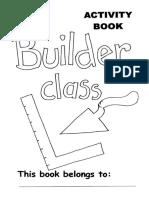 Builders Activity Book