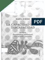 La Capacidad en Discapacidad-Marta Schorn