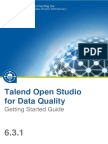 TalendOpenStudio DQ GettingStarted 6.3.1 En