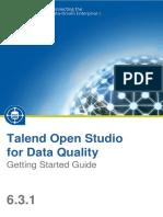 TalendOpenStudio DQ GettingStarted 6.3.1 En