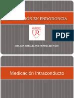 Clase 12 Medicación en Endodoncia