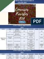 Concursos 2018 Atualizado 26 12