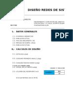 Diseño Hidraulico - AltaNuevo