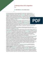 Resumen de Breve Historia Contemporánea de La Argentina de Romero (1)
