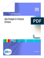 Agile Enterprise Architecture