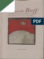 La Irrupcion Del Espiritu - L. Boff