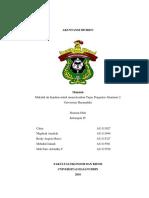 Akuntansi Contoh Sampul, Kata Pengantar , Daftar Isi.docx