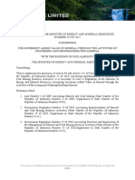 Ministry of Energy and Mineral Resources Regulation No.7 of 2012