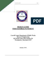Design Guide for Flexible Pavement