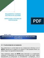 Inspecciones Con Fines de Certificación