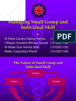 The Component of Managing Small Group and Individual
