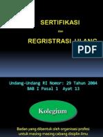 Sertifikasi Dan Registrasi Ulang STR Dokter Gigi