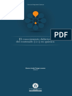 El Conocimiento Didáctico Del Contenido CDC en QUIMICA