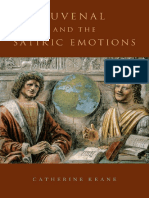KEANE Juvenal and the Satiric Emotions-Oxford University Press (2015)