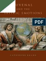 KEANE Juvenal and the Satiric Emotions-Oxford University Press (2015)