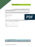 POST TRAINING ALUMNI SURVEY Kuesioner Umum Pengembangan Kapasitas Ver 0.2