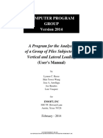 GROUP 2014 Users Manual