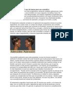 Nociones de Cosmetologia e Imanes y Emociones