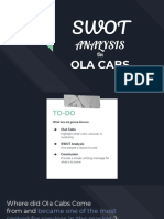 OLA Cabs Swot Analysis