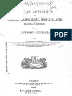 Anales Mexicanos de Ciencias, Literatura... 1,4