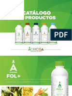 Catalogo de Productos Agricisa