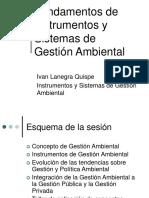 Fundamentos de Instrumentos y Sistemas de Gestión Ambiental