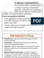 Concept of Project Management