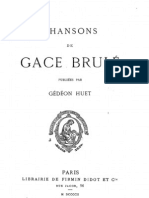 Gace Brulé - Chansons