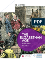 History of the Elizabethan Age -17 pages