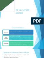 Qué Es La Ciencia Social