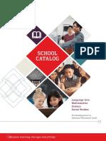 ASIA School Catalog 2017