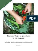 Sfuaa Guide to Gardens Dec 2011