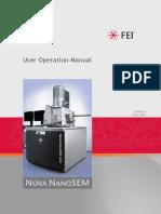 FESEM User Operation Manual