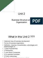 Business Concepts -Unit 2