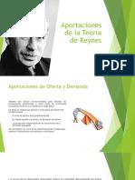 Aportaciones de La Teoría de Keynes