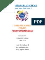 Flight management for class12