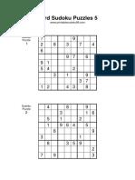 Hard Sudoku 005