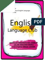 English Language Societyy Club Activity