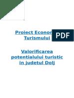 Valorificarea Potentialului Turistic in Judetul Dolj