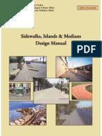 Sidewalks,Islands,&Medians Design Manuals (MOMRA) - (English)
